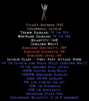 Titan's Revenge - 200/9 - Perfect