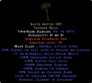 Earth Shifter - Ethereal - 275%+ ED